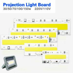 30W 50W 70W 100W 150W LED Floodlight COB Chip Integrated Smart IC Driver 220/110