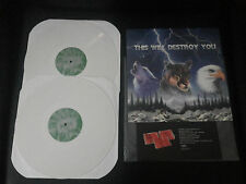 THIS WILL DESTROY YOU 1ST PRESS LIMITED EDITION WHITE VINYL LP MOGWAI MONO GY!BE