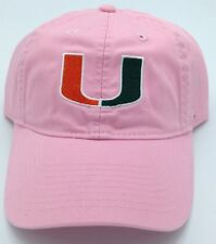 NCAA Miami Hurricanes Adidas Womens Buckle Back Cap Hat Beanie Style  EY57W  NEW 955193e4c741