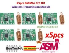 5pcs CC1101 868MHz Wireless Module Long Distance Transmission with Antenna