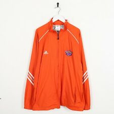 Vintage ADIDAS MCS Small Logo Soft Shell Windbreaker Jacket Orange | XL
