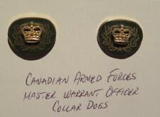 Canadian Armed Forces Master Warrant Officer Pair of Collar Pins