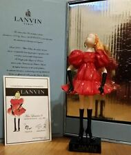 Alber Elbaz SOLD OUT Miss Lanvin Doll no 6 in Box with certificate!!