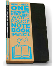 Luckies of London Waterproof Notebook + Graphite Pencil (USLUCSH2) 80 pages