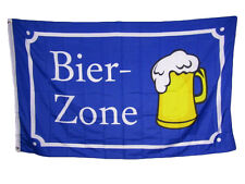 3x5 Bier-Zone German Beer Germany Drinking Rough Tex Knitted Flag 3'x5' Banner