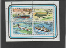 SOLOMON ISLANDS #425  1980 LONDON '80 STAMP EXIBITION    MINT VF NH O.G SHEET
