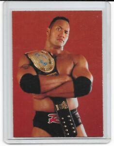 1998 Comic Images The Rock Dwayne Johnson RC #8 RARE WWE WWF Superstarz