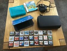 Nintendo 3ds xl with 27 games
