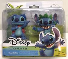 "NEW Disney LILO & Stitch Figure Set 3"" Figures Superhero Stitch Hula Stitch NEW"
