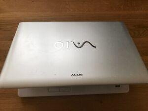 "Sony VAIO VPCEC 17.3 "" i7 620M 8GB  laptop - Windows 10 2012 128 GB SSD/HDD"
