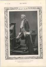 1904 Sir Charles Wyndham As David Garrick Short Story L Lumley Tom Browne