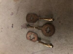 1931 Studebaker President Cast levers for spark, throttle and lights