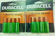 (2)Packs AA Duracell 2500mAh Pre-Rechargeable Batteries $3 Ship! 10yr Guarantee