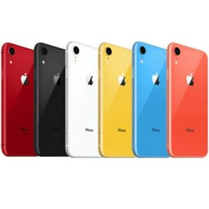 New Apple iPhone XR 64GB GSM Unlocked AT&T T-Mobile Metro PCS Worldwide 4G LTE