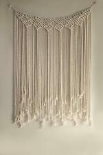 Macrame Wall Hanging Hand Woven Tapestry Boho Chic Art Bohemian Home Decor Large