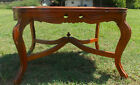 Walnut Mahogany Carved Inlaid Coffee Table  (RP-CT71)