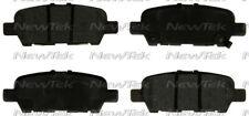 Disc Brake Pad Set-Galaxy Ceramic Disc Pads Rear NewTek SCD1415