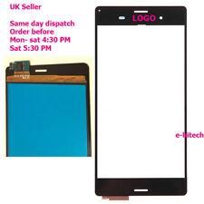 """Sony XPERIA Z3 D6603 D6633 L55T 5.2"""" Digitalizzatore Touch Screen Vetro Nero + Strumenti"""