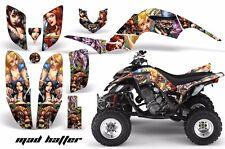 ATV Decal Graphic Kit Quad Sticker Wrap For Yamaha Raptor 660 2001-2005 MAD HTTR