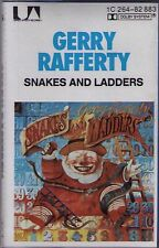 GERRY RAFFERTY - SNAKES AND LADDERS, 1980,   MC Kassette
