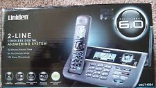 Brand New Uniden DECT 6.0 DECT4086 2-Line Cordless Digital Answering System