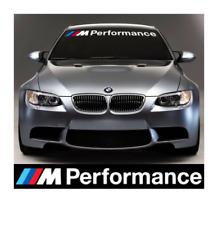 BMW M Performance Aufkleber Windschutzscheiben Frontscheiben Grafik M2 M3 M4 M5