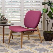 Bralon Purple Fabric Accent Chair