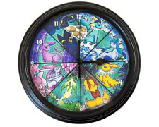 Eeveelution - Pokemon Wall Clock - Video Game Wall Art - Pokemon Gift