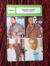 PHILIPPE NOIRET  - MOVIE STAR - FILM TRADE CARD - FRENCH