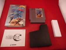 Super C (Nintendo NES) COMPLETE w/ Box manual game WORKS! CIB #K1