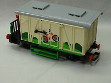 Playmobil  G Scale operating Train BIKE BOXCAR  in MINT CONDITION