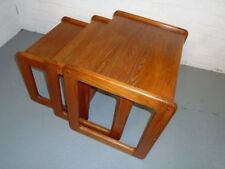 Teak Vintage/Retro Rectangle Nested Tables