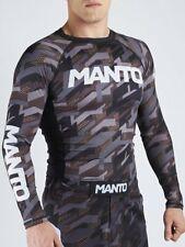 Manto Long Sleeve Rash Guard Tactic BJJ No-Gi MMA Brazilian Jiu Jitsu