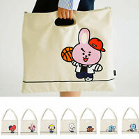 BTS BT21 Official Eco Bag, Shoulder Bag, Tote Bag, 100% Authentic, US Seller