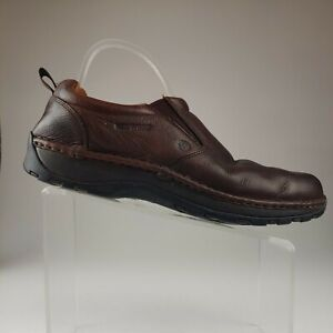 Red Wing 8702 Brown Leather Slip On Casual Loafers Mens Size 13 EE