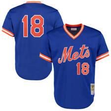 Darryl Strawberry #18 New York Mets Men's Royal M&N Cooperstown Jersey
