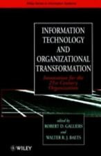 Information Technology and Organizational Transformation: Innovation f-ExLibrary