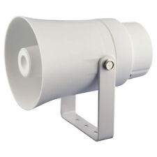 """Pyle Home Audio PHSP10TA New 5.6"""" Indoor / Outdoor 70 Volt White Pa Horn Speaker"""