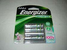 4 x Energizer NH12BP-4 AAA 800mAh Rechargeable Batteries, Save $$$, Save Planet