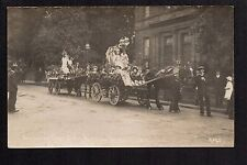 """Penrith - Coronation Day, Girl's National School 1911 -  RP.  in """"Reed series"""""""