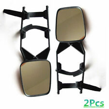 A Pair Clip On Trailer Towing Side Mirror Extender Extension Truck Suv RV