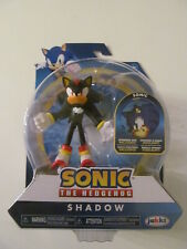 """Sonic The Hedgehog - Shadow 4"""" Bendable Action Figure by Jakks Pacific - Sealed"""