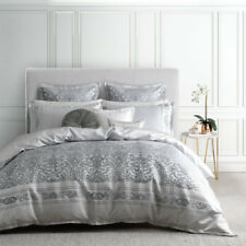 Ultima Logan and Mason Lawrence Sterling Queen Bed Size Doona Quilt Cover Set