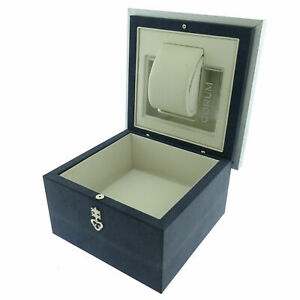 GENUINE CORUM  BLUE WATCH BOX  WITH OUTER BOX