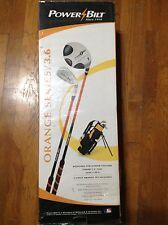 PowerBilt Orange Series Junior Golf Set
