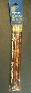 WWE WCW 4 PENCILS IN FACTORY SEALED PKG WCW OFFICIAL HOLOGRAM 3 DIFFERENT TEAMS