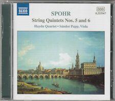 Louis Spohr - Streichquintette Vol.3, Nr. 5+6 CD