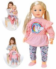 Zapf Creation Große Puppe Sally 63 cm mit Haaren (Blond)