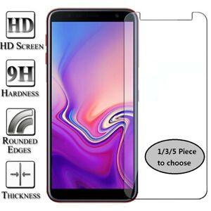 1/3/5x Tempered Glass Screen Protector For Samsung Galaxy J8 J6 J4 Plus J3 J5 J7