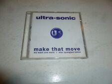ULTRA-SONIC - Make that Move - UK 5-track Single CD